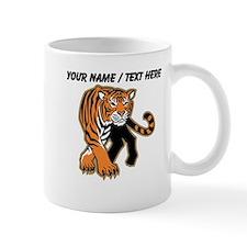 Custom Bengal Tiger Mascot Mug