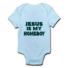 Jesus is my homeboy Body Suit