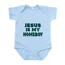 Jesus is my homeboy Body Suit