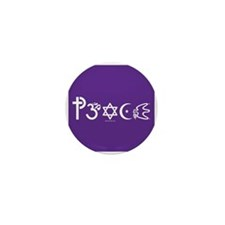 Peace-OM Mini Button (100 pack)