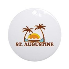 loSt. Augustine - Palm Trees Design. Ornament (Rou