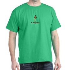 St. Augustine - Lighthouse Design. T-Shirt