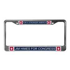 Elect Jim Himes License Plate Frame
