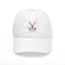 Personalized Field Hockey Baseball Cap