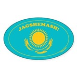 Jagshemash! Oval Decal