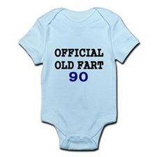 OFFICIAL OLD FART 90 Body Suit