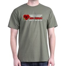 Red Friday Troops T-Shirt