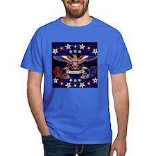 Harvest Moons Navy Eagle Men's T-Shirt