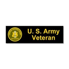 Unique Army veteran Car Magnet 10 x 3