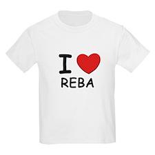 I love Reba Kids T-Shirt
