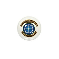 Army - 35th INF - Div - SSI Mini Button