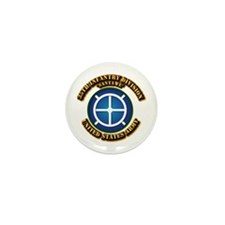 Army - 35th INF - Div - SSI Mini Button (10 pack)