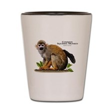 Common Squirrel Monkey Shot Glass
