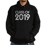 Class of 2019 Grad Hoodie (dark)