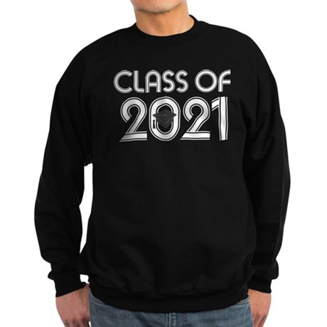 Class of 2021 Grad Sweatshirt (dark)