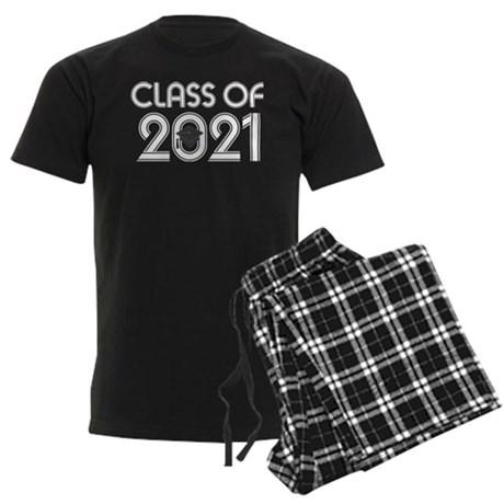 Class of 2021 Grad Men's Dark Pajamas