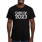 Class of 2023 Grad Men's Fitted T-Shirt (dark)