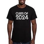 Class of 2024 Grad Men's Fitted T-Shirt (dark)