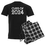 Class of 2024 Grad Men's Dark Pajamas