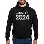Class of 2024 Grad Hoodie (dark)