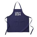 Class of 2024 Grad Apron (dark)