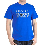 Class of 2029 Grad Dark T-Shirt