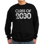 Class of 2030 Grad Sweatshirt (dark)