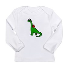 Pirate Dinosaur - Brachiosaurus Long Sleeve T-Shir
