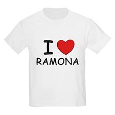 I love Ramona Kids T-Shirt