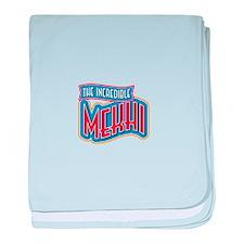 The Incredible Mekhi baby blanket