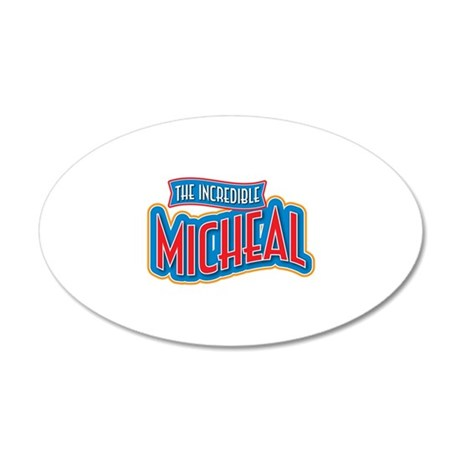 The Incredible Micheal Wall Decal