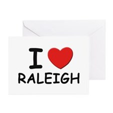 I love Raleigh Greeting Cards (Pk of 10)