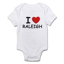 I love Raleigh Infant Bodysuit