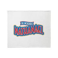 The Incredible Nathanael Throw Blanket