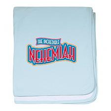The Incredible Nehemiah baby blanket