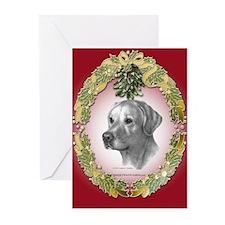 Yellow Lab Christmas Greeting Cards (Pk of 10)