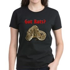 Python2 Got Rats Women's Dark T-shirt (center)