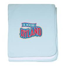 The Incredible Ryland baby blanket
