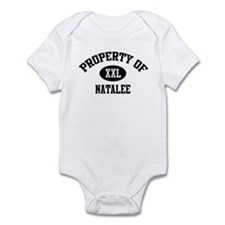 Property of Natalee Infant Bodysuit