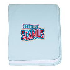 The Incredible Seamus baby blanket