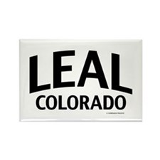 Leal Colorado Rectangle Magnet
