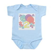 2nd Pastel Birthday Infant Bodysuit