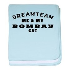 Bombay Cat Designs baby blanket