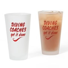 Diving Coaches Drinking Glass