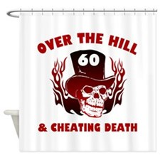 60th Birthday Cheating Death Shower Curtain