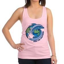 Save the Dolphins Racerback Tank Top