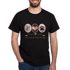 Peace Love Labrador Retriever T-Shirt