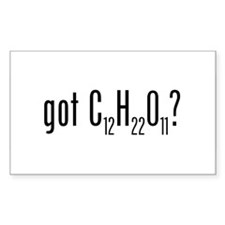 Got Lactose? Rectangle Decal
