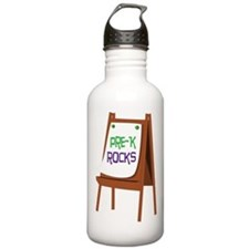 Pre-K Rocks Water Bottle