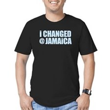 CHANGE AT JAMAICA Black T-Shirt
